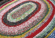 Toothbrush Rag Rug Instructions for OVAL Rug plus Wooden toothbrush needle