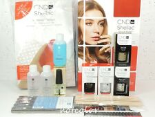 CND Shellac Starter INTRO PACK Kit 2 Colors & Base Top Coat Original Wraps..
