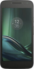 Motorola - MOTO G4 Play 4G LTE with 16GB Memory Cell Phone (Unlocked) - Black