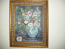 """Original oil by listed American Artist """" Jane Peterson"""" 1876 1965"""