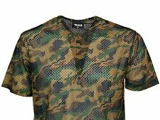 MENS CAMO TSHIRT V-NECK CHEAP IN DARK CAMO & LIGHT CAMO COLOURS ONLY £5.99