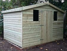 8 x 8 19mm Tanalised & Pressure Treated T&G Apex Shed