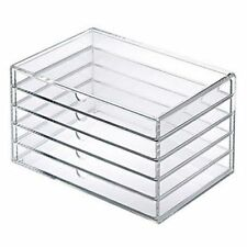 MUJI ACRYLIC CASE - 5 DRAWERS - MULTIPURPOSE/MAKEUP STOREAGE