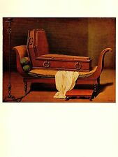 "1974 Vintage MAGRITTE ""MADAME RECAMIER BY DAVID"" COLOR offset Lithograph"
