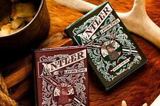 Antler Playing Cards - Green - Dan and Dave Deck -  Magic Tricks - New