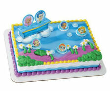 Bubble Guppies cake decoration Decoset cake topper set party toys