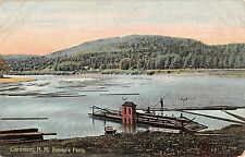 Ashley's Ferry in Claremont New Hampshire Antique Postcard L91