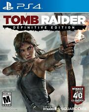Tomb Raider Definitive Edition PS4 Game NEW (English Portuguese Spanish French)