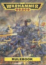 WARHAMMER 40000 RULEBOOK - FROM THE COLLECTION OF JERVIS JOHNSON- GAMES WORKSHOP