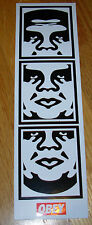 "SHEPARD FAIREY Obey Giant CLASSIC ANDRE STRIP Sticker 2.5 X 8.5"" art from poster"
