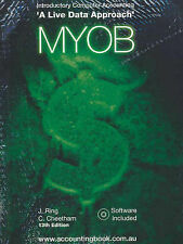 Introductory Computer Accounting: A Live Data Approach: Myob 13e Ring Cheetham