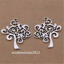 "10pc Tibetan Silver ""Tree of Life"" Pendant Charms Accessories wholesale JP1227"