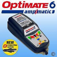 Optimate 6 Ampmatic Charger & Maintainer New