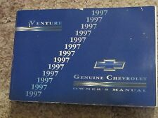 1997 Chevrolet Venture Owners Manual ct50
