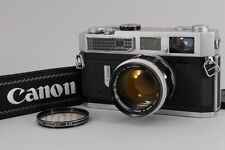 Near MINT Canon Model 7 Rangefinder w/50mm F1.4 LTM Lens Leica Mount from Japan