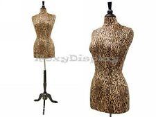Female Leopard-print Mannequin Manikin Dress Form #F01YL+ BS-02BKX