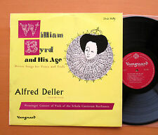 PVL 7035 William Byrd And His Age Alfred Deller Vanguard Red Label Mono NM/EX