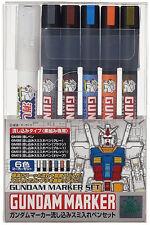 Gundam Marker GMS-122 Marker Set (6) GUNPLA Set GSI CREOS
