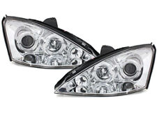 Fari Ford Focus 98-01 posizione angel eyes chrome