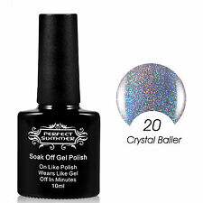New Arrival Glitter Halo Sparkle Nail UV Gel Polish Varnish Lacquer Pedicure Hot