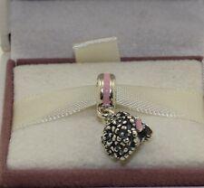 """AUTHENTIC PANDORA""""Pink Bouquet Pendant Charm, 791106EN24  #620"""