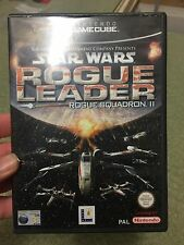 RETRO GAMING - NINTENDO GAMECUBE - STAR WARS ROGUE LEADER  ROGUE SQUADRON 2