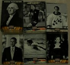 PANINI AMERICANA 2012 - Heroes & Legends TRADING CARDS  COMPLETE SET Presidents