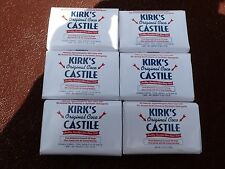 Kirk's Orginal Coconut / Coconut Oil / Castile Soap / 6 BARS FOR  $$$