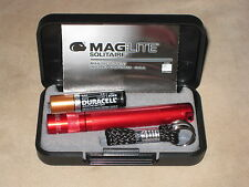 Maglite Solitaire Red maglight  mag-lite  mag-light