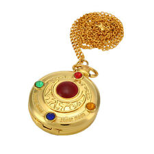 Classic Anime Sailor Moon Moon Prism Sweater Chain Pendant Pocket Watch