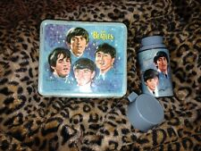 Vintage 1965 The Beatles Band Music Aladdin Metal Lunchbox and thermoses