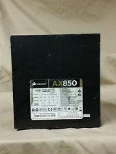 Corsair AX 850 Power Supply CMPSU-850AX (FOR PARTS OR REPAIR)