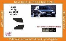 pellicola oscurante vetri audi a4 berlina dal 2005 al 2008 kit anteriore