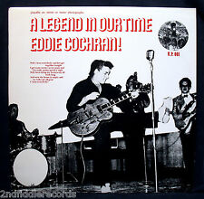 EDDIE COCHRAN-A LEGEND-Near Mint Rockabilly UK Import Album-UNION PACIFIC #UP001