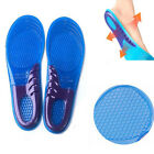 Men Women Orthotic Arch Support Massage Gel Silicon Run Shoe Insoles Pain Relief