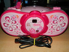 Barbie RCD 150 BB Stereo Radio (CD-Player, UKW-/MW-Tuner) - top Zustand - Klasse