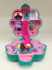 POLLY POCKET Vintage Bluebird 1990 Water Fun Park *COMPLETE w/GOLD LOGO VISIBLE*