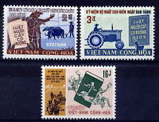 VIETNAM, SOUTH Sc#389-91 1971 Agrarian Reform Law MNH
