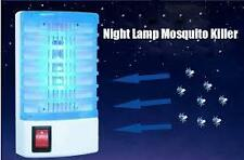 Portable Electron Out Mosquito Killer Night Lamp Bug Insect Zapper Killer-Green