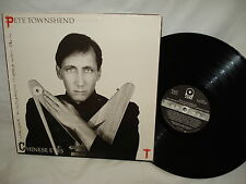 Pete Townshend Chinese Eyes LP RECORD Album - Excellent
