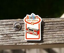 Home Depot French Kids Workshop Lapel Pin Pinback Ateliers Pour Enfants