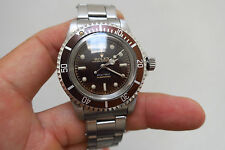 Vintage Rolex cal 1530 watch movement (fix Submariner 5512 ) in custom made case