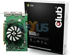 Club 3D 8600 GT Overclocked Edition CGNX-G862DD, 512 MB GDDR3, Dual DVI, S-Video