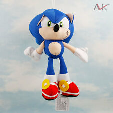"Mini 7.5"" Sega Sonic the Hedgehog Plush Doll - Blue Stuffed Toy **NEW**"