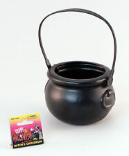 Halloween small black Witch cauldron costume accessory trick or treat bag