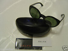 Polo RALPH LAUREN RL8104-W 5001/52 52/22 Round Sunglasses ~ ITALY ~ Case Cloth