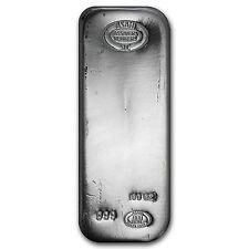 100 oz Silver Bar - Asahi - SKU #90500