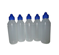 5pcs Gelatin Art Bottle - 3D Jelly Cake Bottle 100ml Empty Bottle