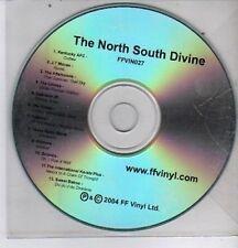 (DE576) The North South Divine, 12 tracks various artists - 2004 DJ CD