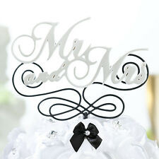 Mr. & Mrs. Cake Pick wedding cake pic cake top wedding topper